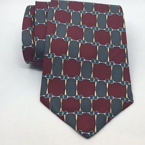 Claybrooke NEW silk tie